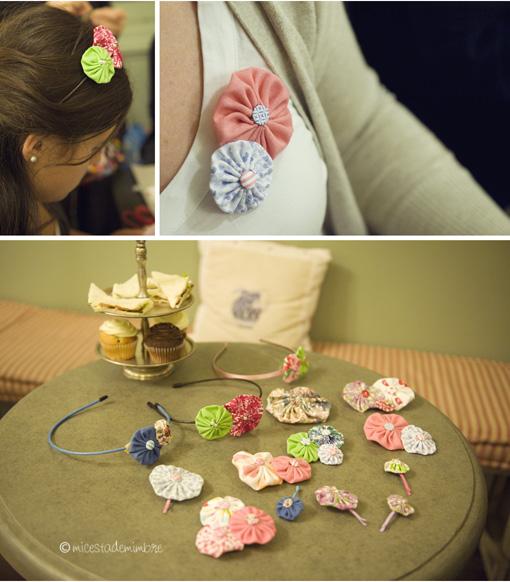 taller vailima 3 Talleres de flores de tela.
