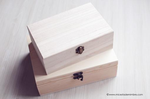 Decorar cajitas de madera great cajas de madera para - Decorar cajas de madera con servilletas ...