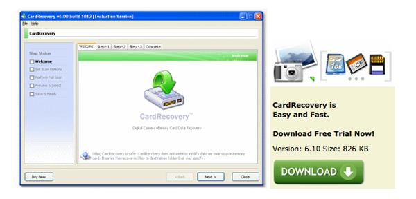 memory card recovery Descubrimientos noviembre 2012.