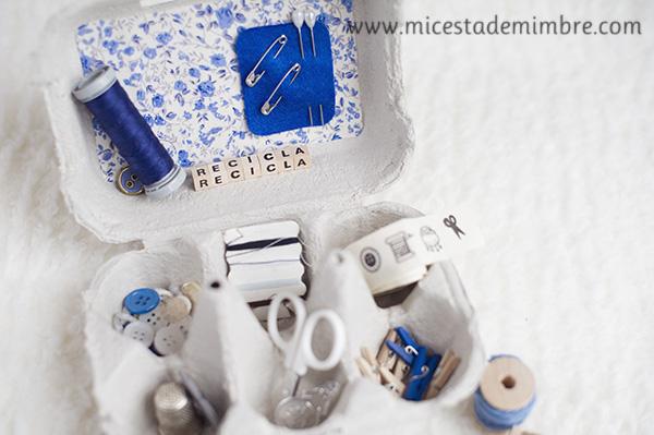 costurero reciclado Nosotras reciclamos ¿y tu?