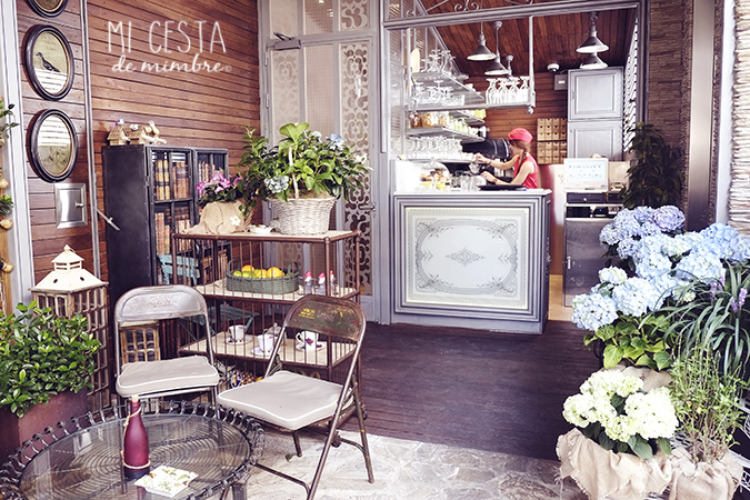 Cafeteria el jardin secreto de salvador bachiller mi cesta de mimbre - El jardin secreto restaurante ...
