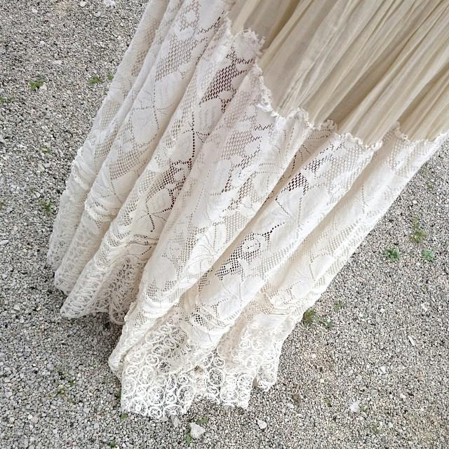 mi cuñada llevaba hoy un vestido precioso! #voyaadelgazarparaponermelo #enamoradadelencaje