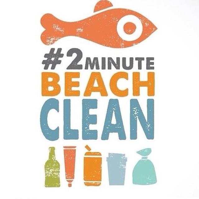 Nos ha encantado esta iniciativa así que tanto Marta como yo aportaremos nuestros granito de arena para que nuestras playas estén bien limpias. Os unis?con este #2minutebeachclean podéis subir vuestras fotos #playaslimpias #mcmbarbara