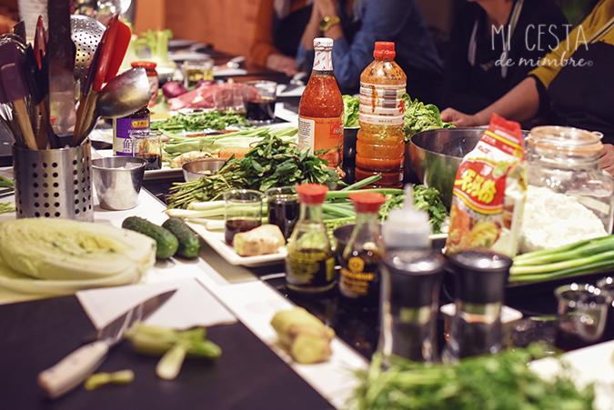 Mi cesta de mimbre y su curso de comida japonesa mi - Curso cocina japonesa ...