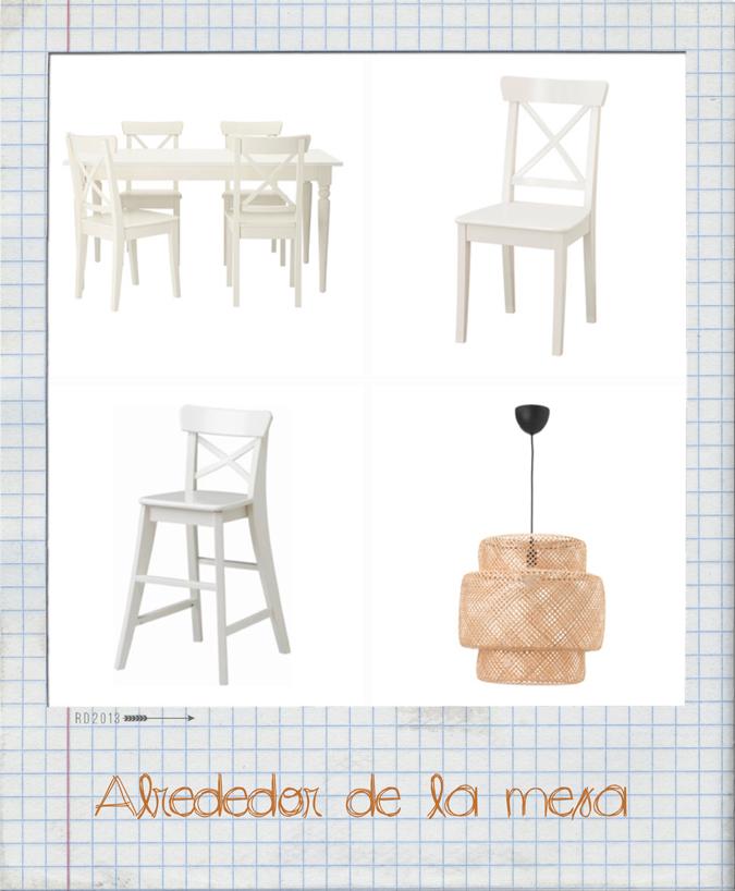 Alrededor de la mesa mi nuevo comedor mi cesta de for Alrededor de tu mesa